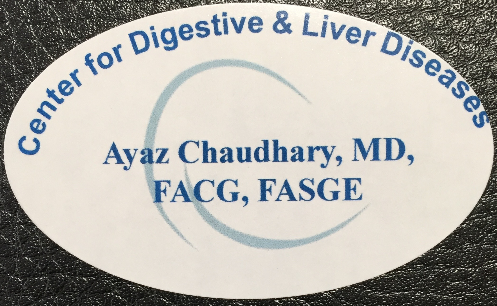 Center for Digestive and Liver Diseases Business Card